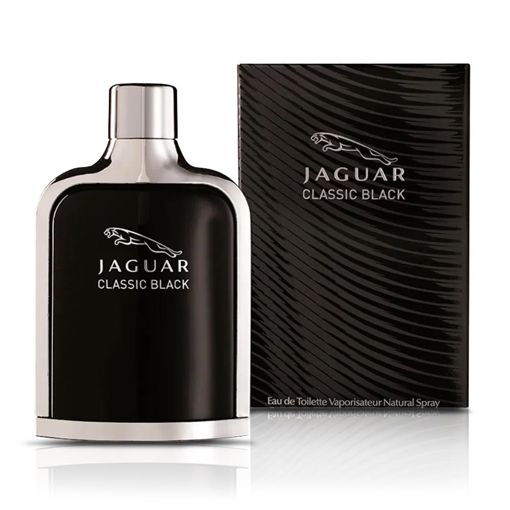 Perfume Classic Black Masculino 100ml  Eau de Toilette Jaguar