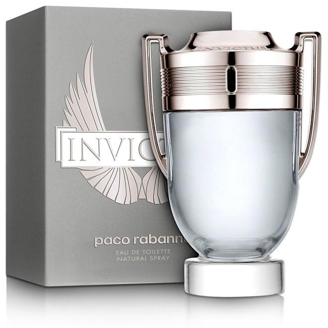 Perfume Invictus Masculino 100ML Eau de Toilette Paco Rabanne