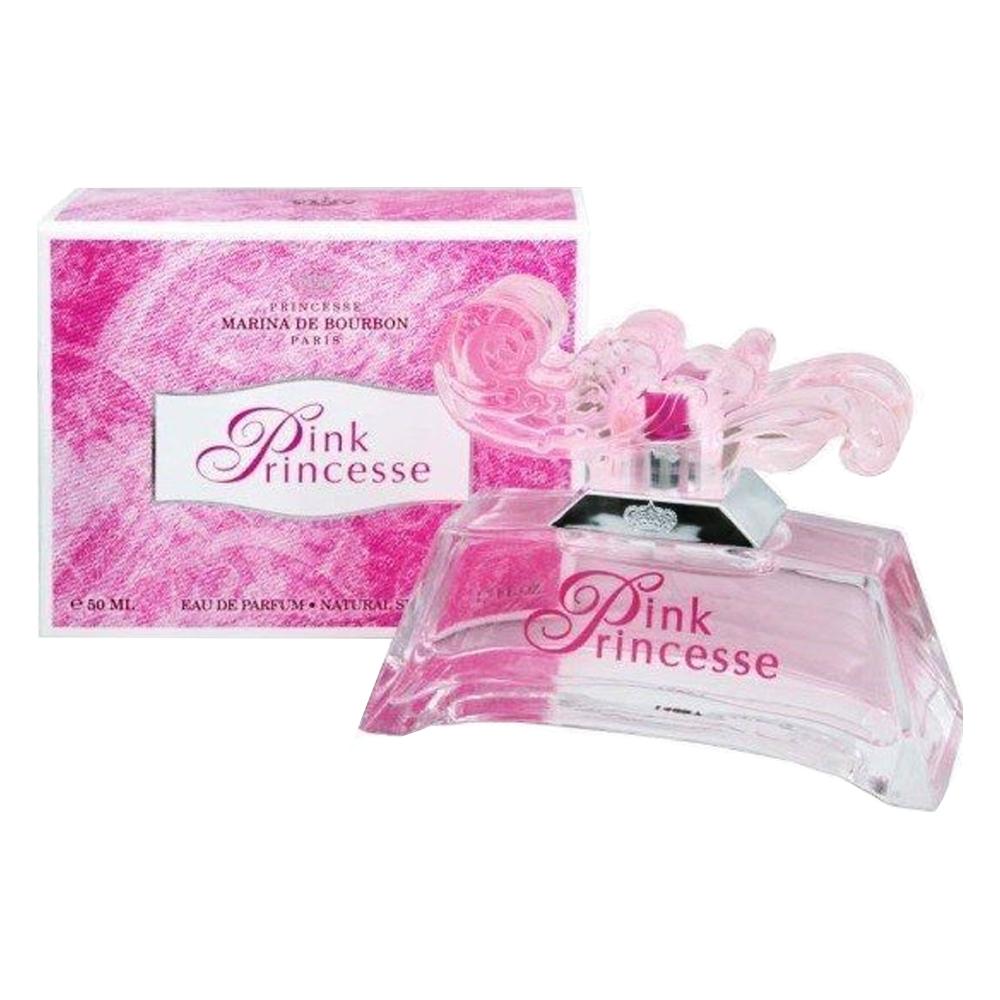 Perfume Marina de Bourbon Pink Princesse Feminino 50ml Eau de Parfum Marina de Bourb