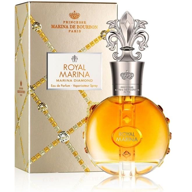 Perfume Royal Diamond Feminino 100ml Eau de Parfum Marina de Bourb
