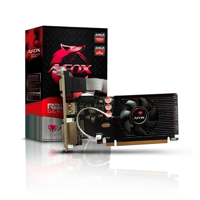 Placa de Video 2GB R5 220 64 bit  Dvi/Vga/Hdmi Ddr3 Lp AFR52202048D3L9 Afox