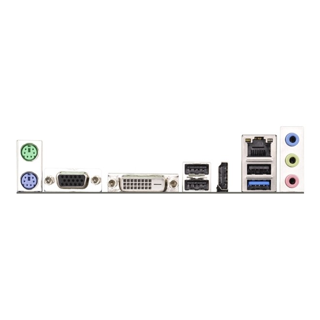 Placa Mae C/ Processador Dual Core J1800M Ddr3 Hdmi/Dvi/Vga D1800M Asrock