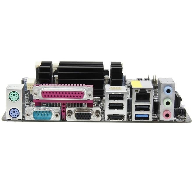 Placa Mae C/ Processador Dual Core J1800 Ddr3 Sodim Hdmi/Vga D1800B-ITX Asrock
