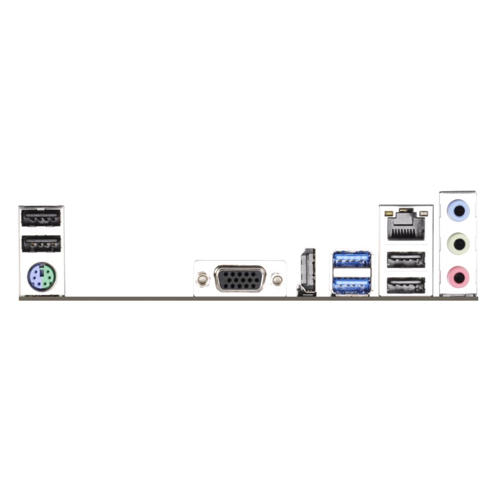 Placa Mae Intel 1150 H81M-HG4 Ddr3 Hdmi/Vga 4º Geracao H81M-HG4 ASROCK