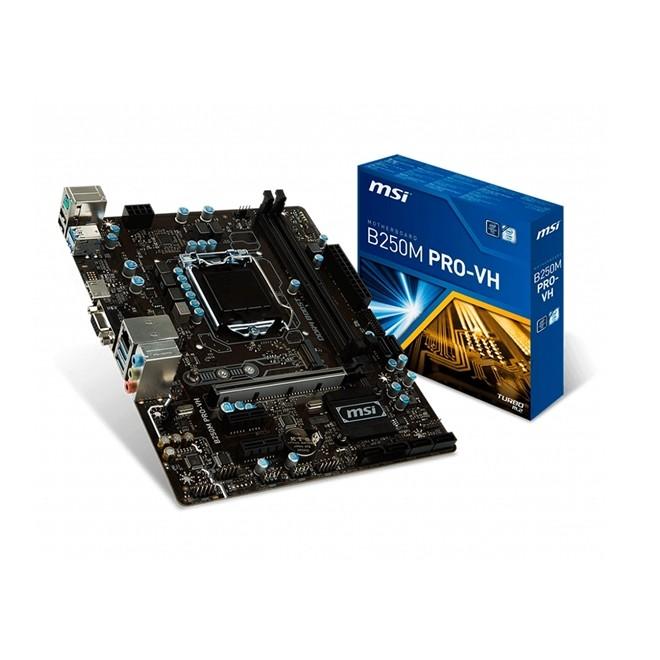 Placa Mae Intel 1151 B250M-Pro Vh Ddr4 Hdmi/Vga 7º Geracao B250M-Pro Vh MSI