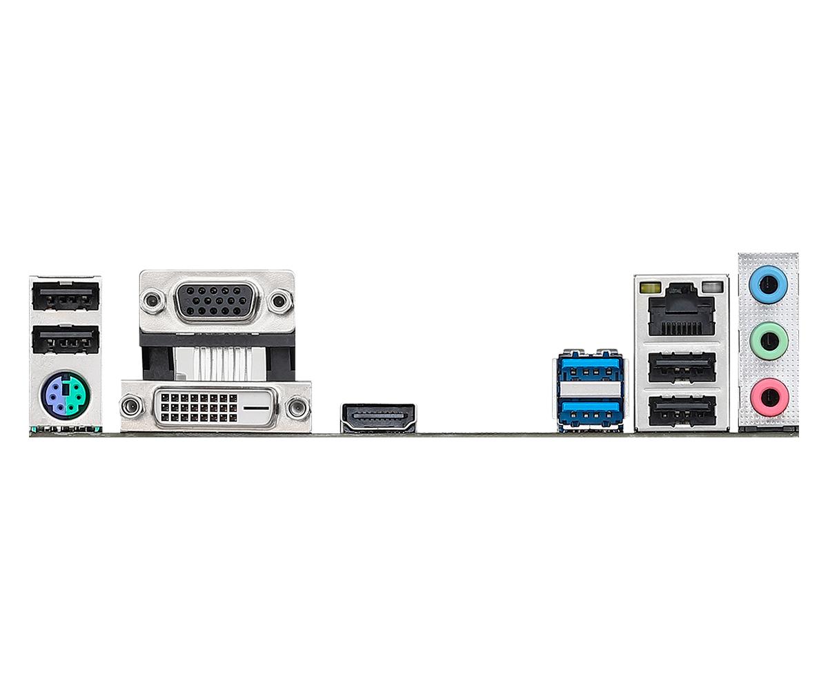 Placa Mae Intel 1151 H370M HDV 2xDdr4 Hdmi/Dvi/Vga 9º G H370M-HDV Asrock