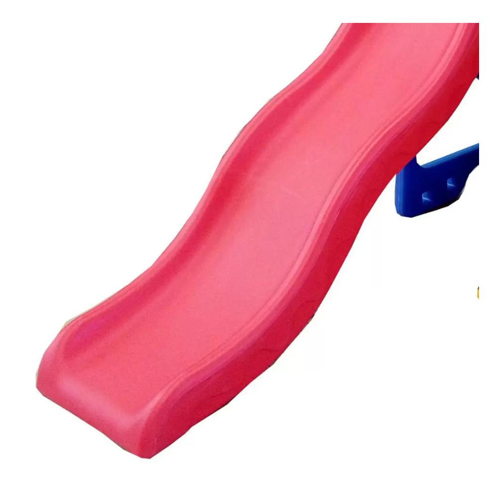 Playground Infantil 5x1 Escorregador Balanço Basquete e Gol BW050 Importway