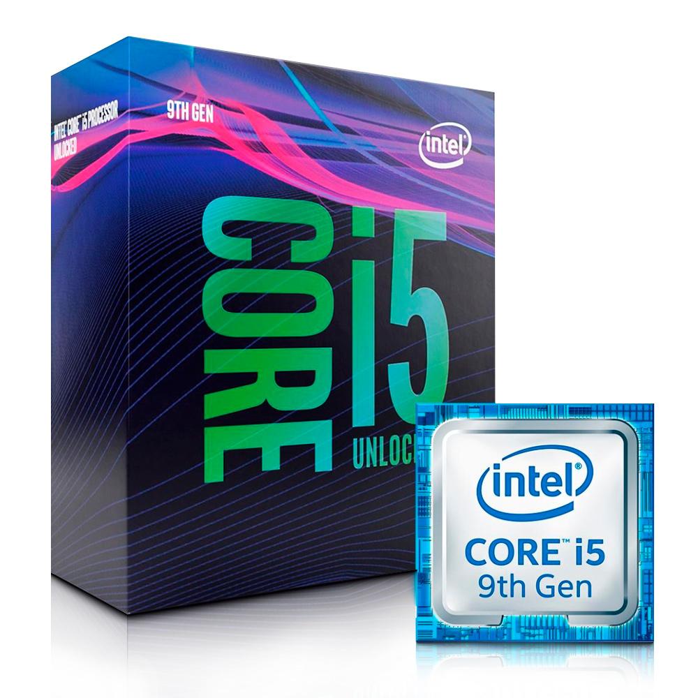 Processador 1151 Core I5 9600K 3.7ghz/9mb S/ Cooler I5-9600K Intel