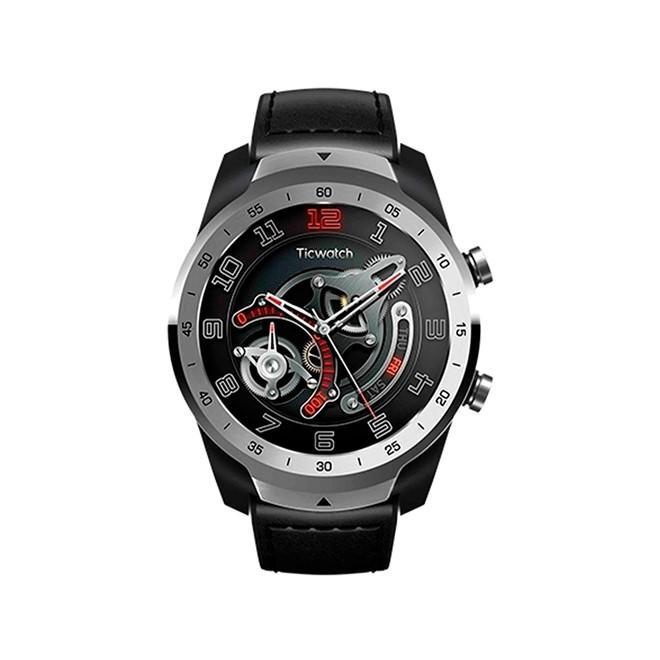 Relogio Smartwatch Ticwatch Pro Liq. Metal Silver 45mm 2020 WF12106 Mobvoi