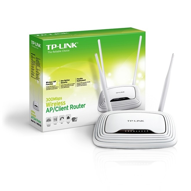 Roteador Wireless 300mbps 2 Antenas Tl-Wr843nd Tp Link