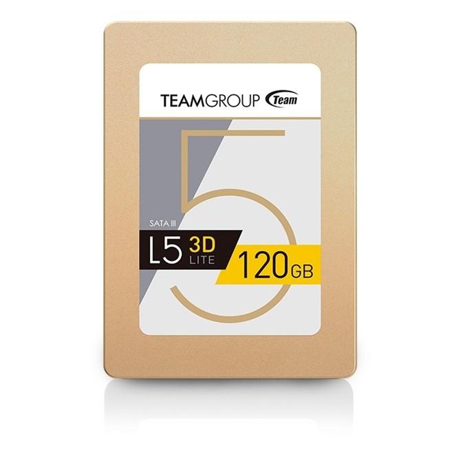 Ssd 120gb L5 3D Sata 3 470mb/s Leitura - 300mb/s Gravaçao T253TD120G3C101 Team Group