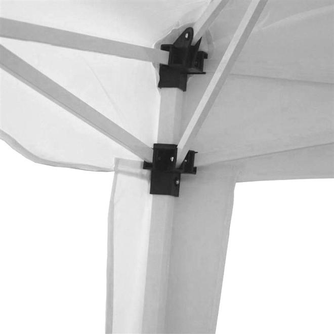Tenda Gazebo Articulado 2,40x2,40 Branco IWGZA-240BR Importway