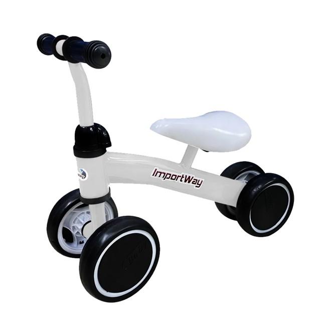 Triciclo Balance Infantil Branco BW107BR Importway