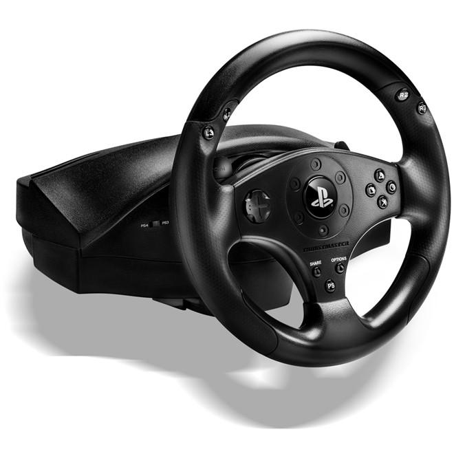 Volante Gamer Para Playstation 4 E Ps3 T80 Racing Wheel T80 Thrustmaster