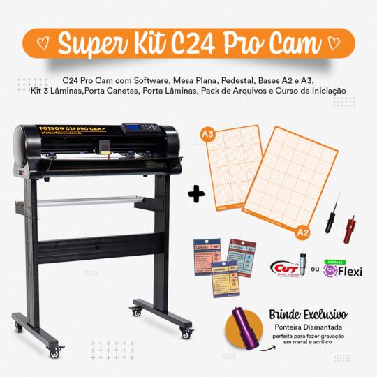 Super Kit para C24 Pro Cam
