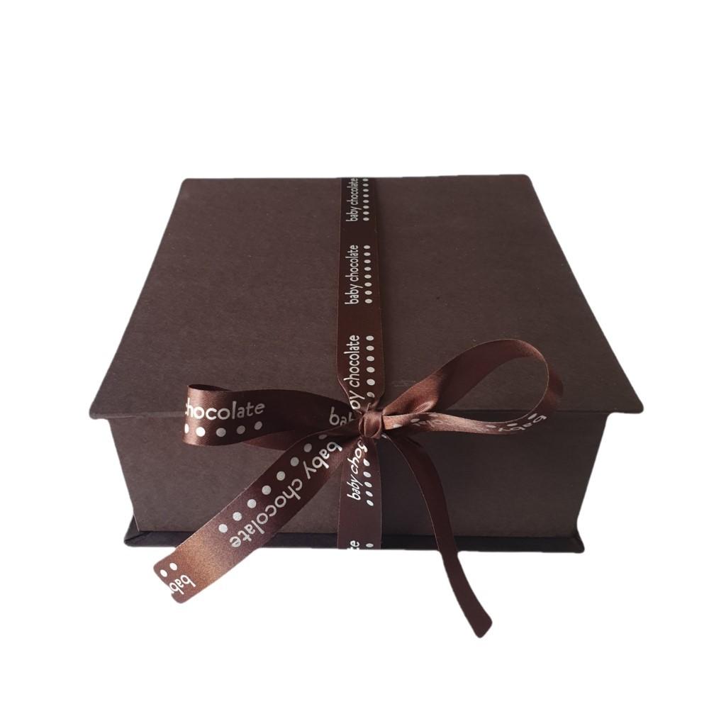 Caixa Baby Chocolate M