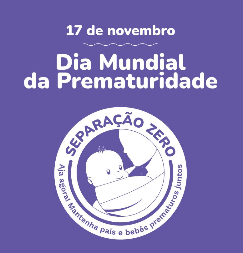 Camiseta Dia Mundial da Prematuridade 2021 - P ADULTO