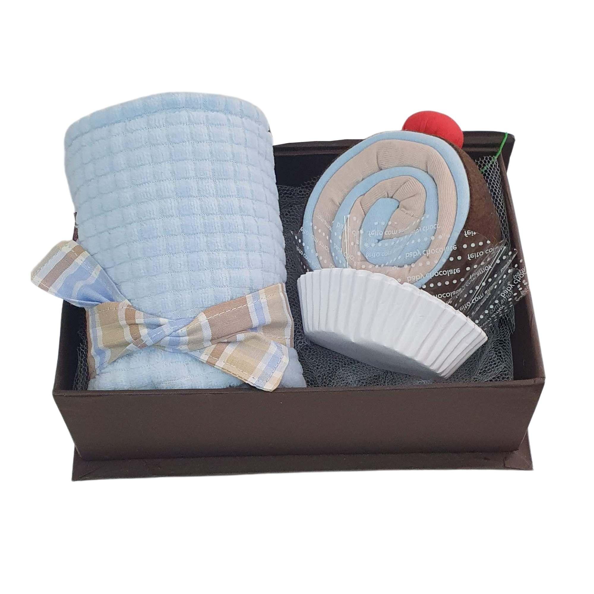 Kit Hora de Dormir Azul