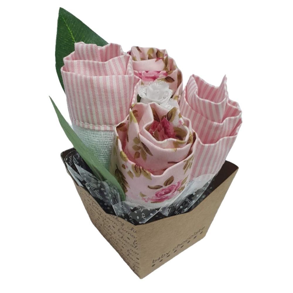 Vasinho de flor rosa