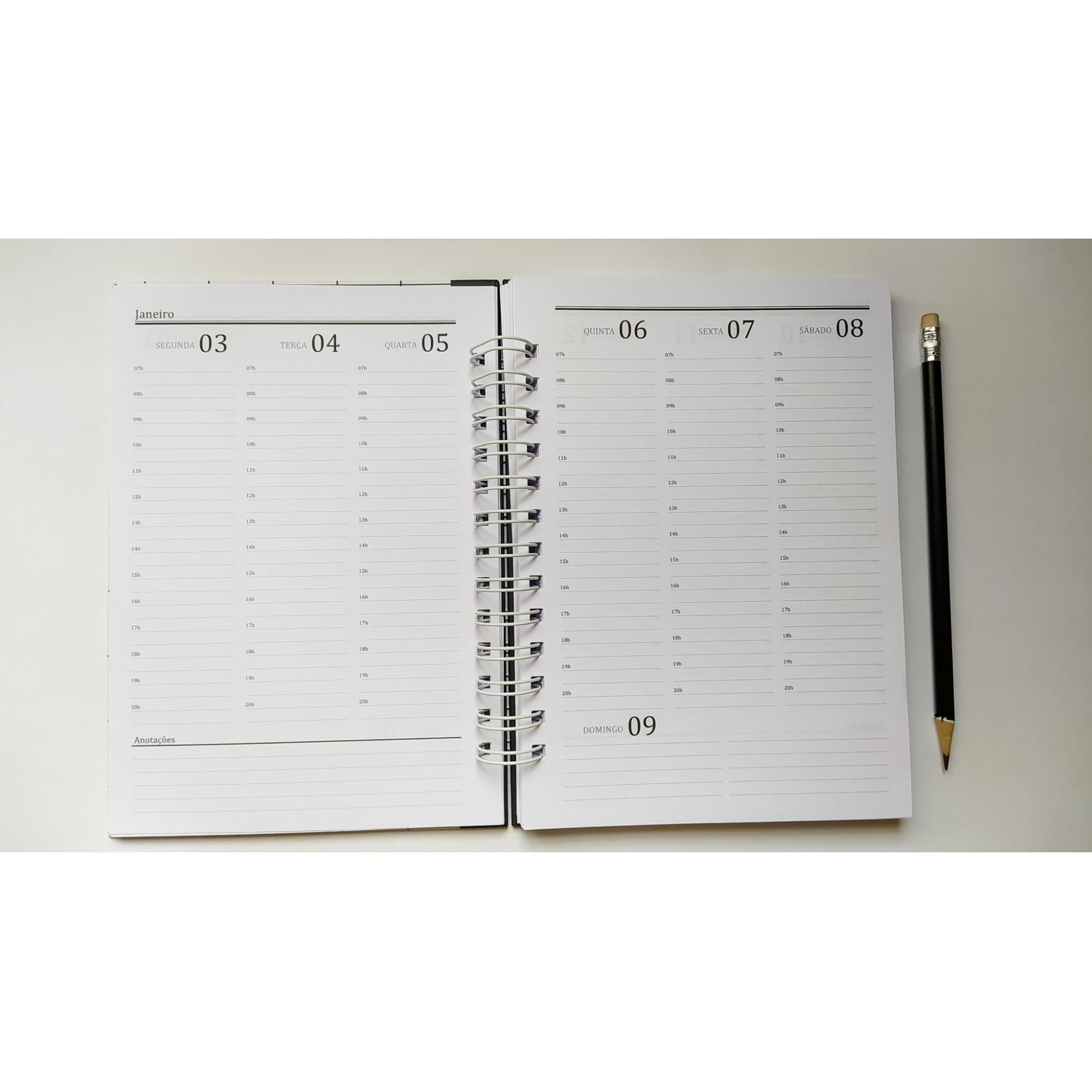 Agenda Office 2022 - Coleção Alfabeto