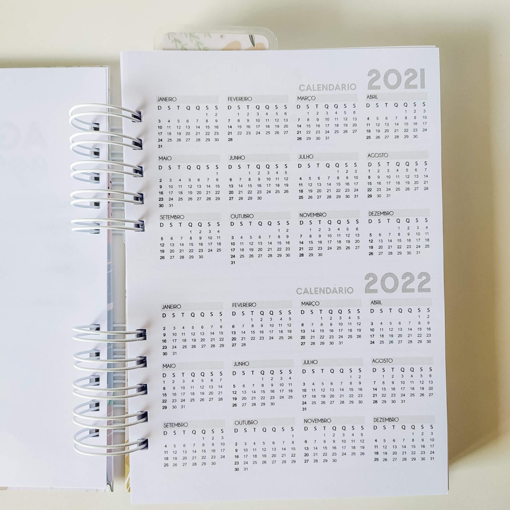 Agenda permanente - Alfabeto