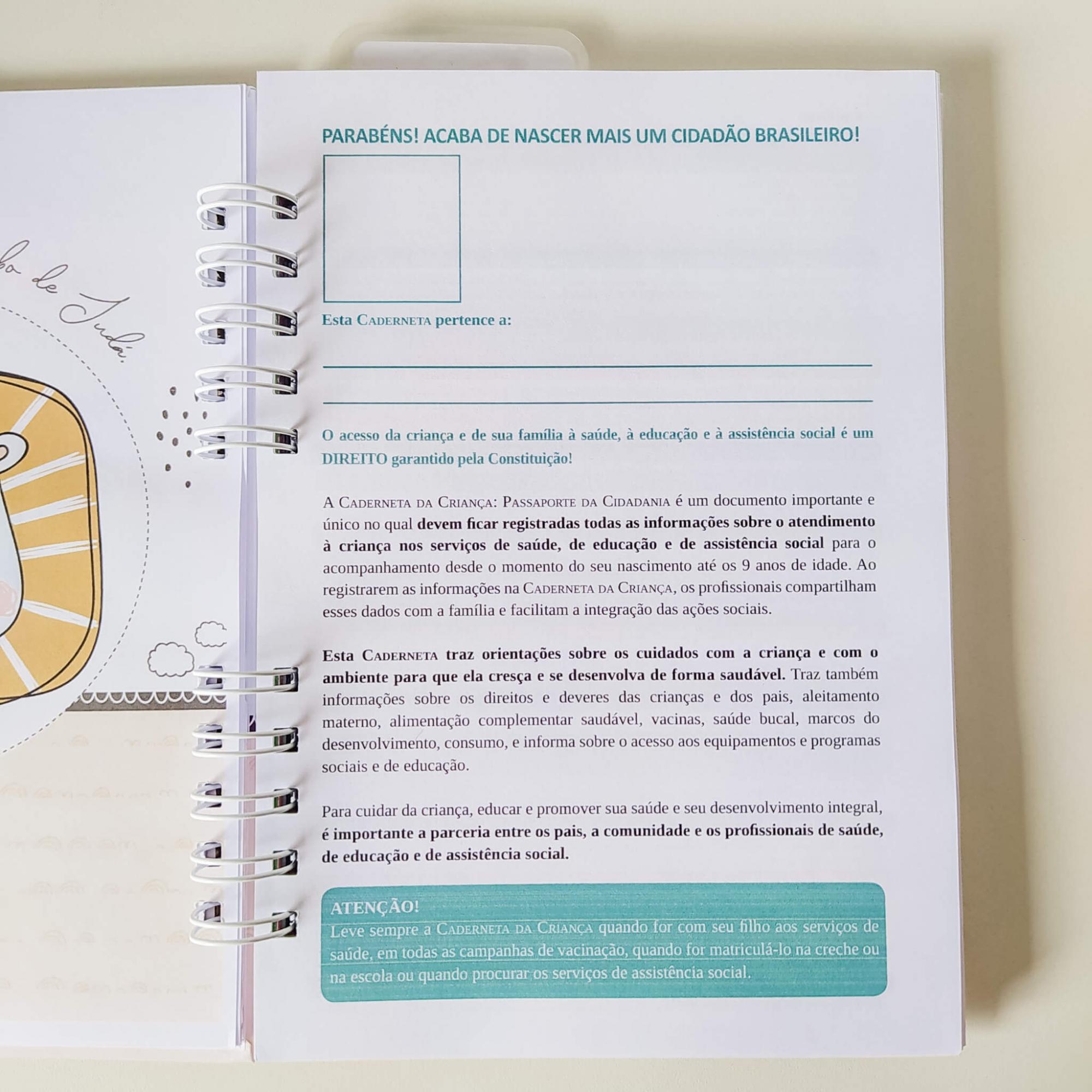Caderneta de saúde - Neutra