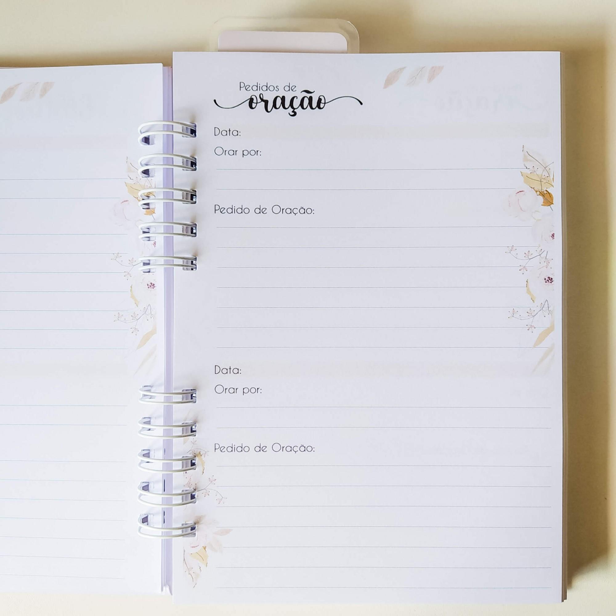 Caderno devocional