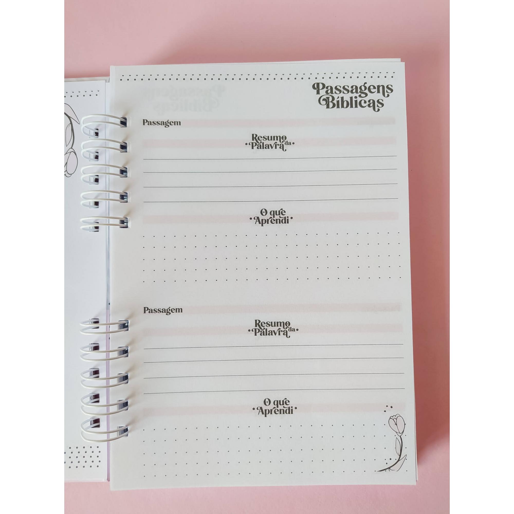 Caderno Devocional - Dia das Mães