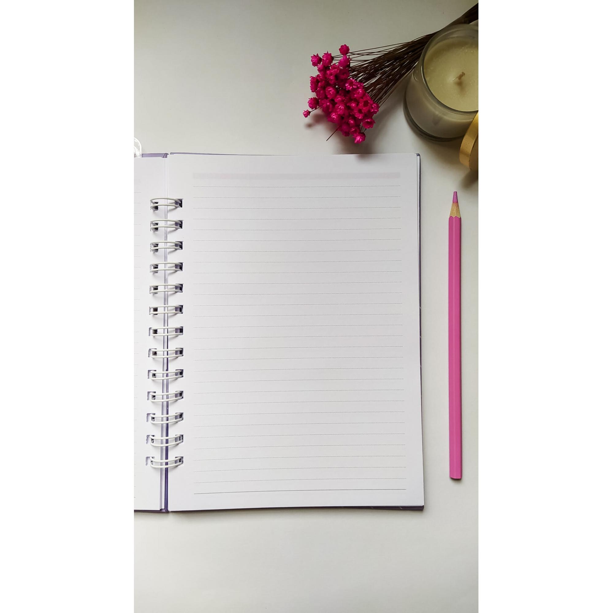 Caderno Médio (A5) - Coleção Alfabeto