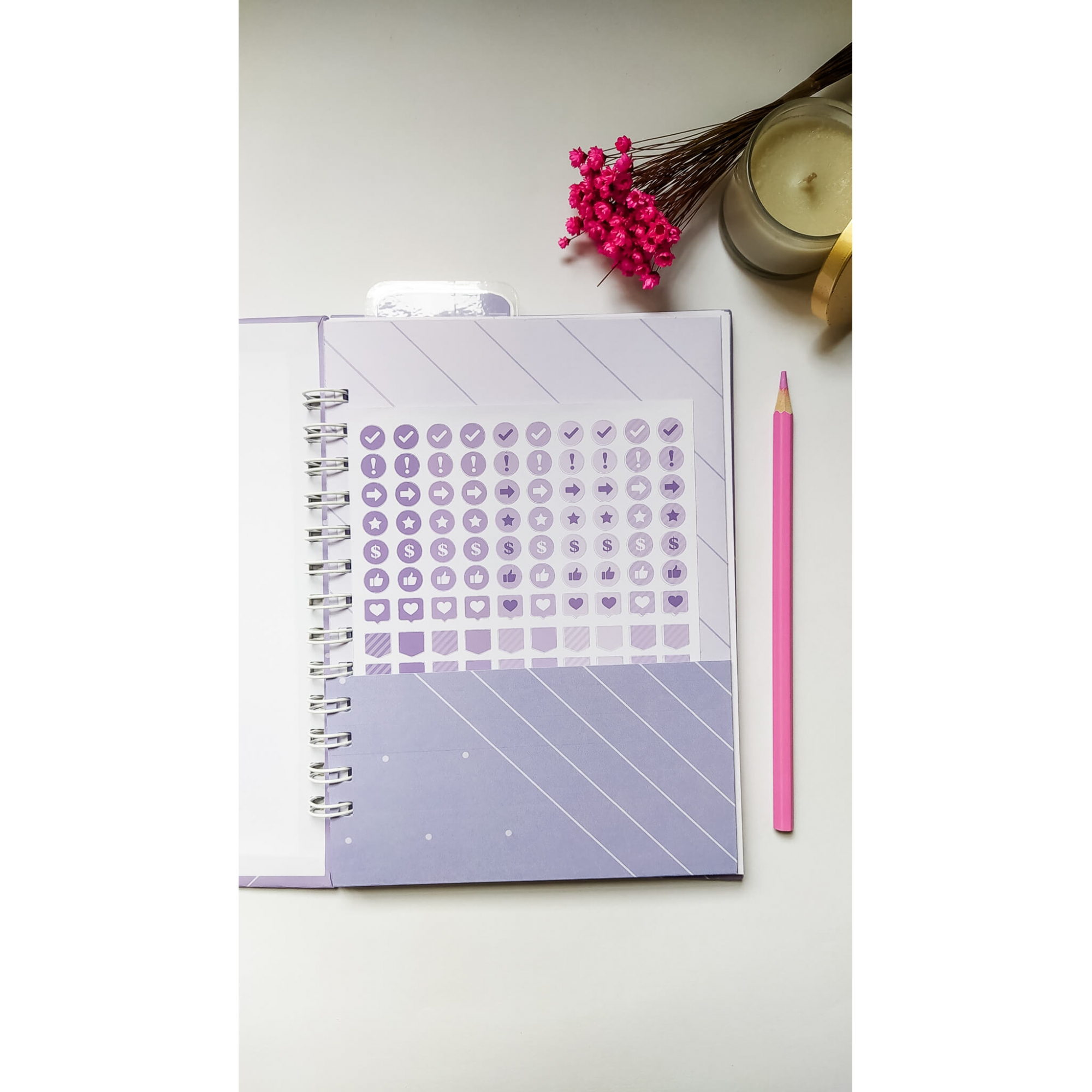 Caderno Médio (A5) - Coleção Cores