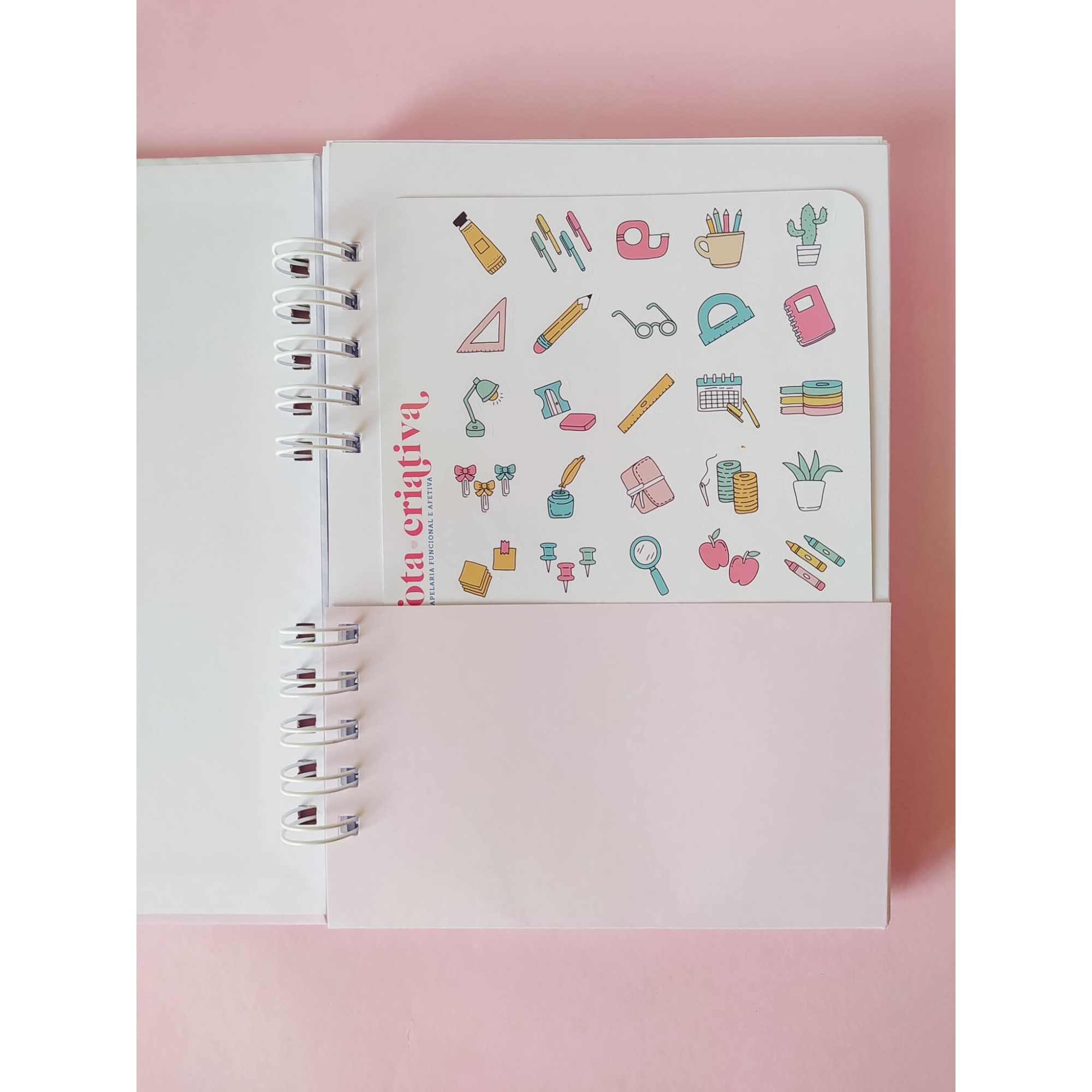 Caderno Médio A5 - Dia das Mães