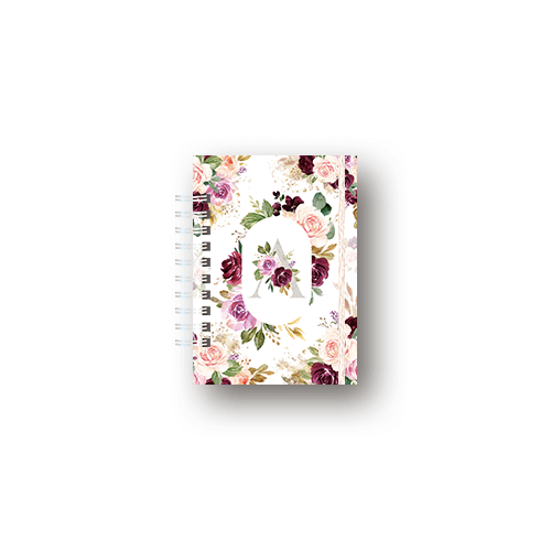 Caderno Pequeno (A6) - Coleção Alfabeto