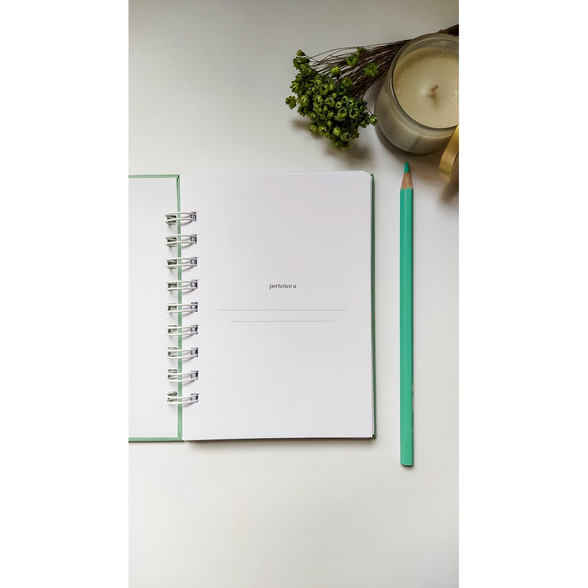 Caderno Pequeno (A6) - Coleção Cores