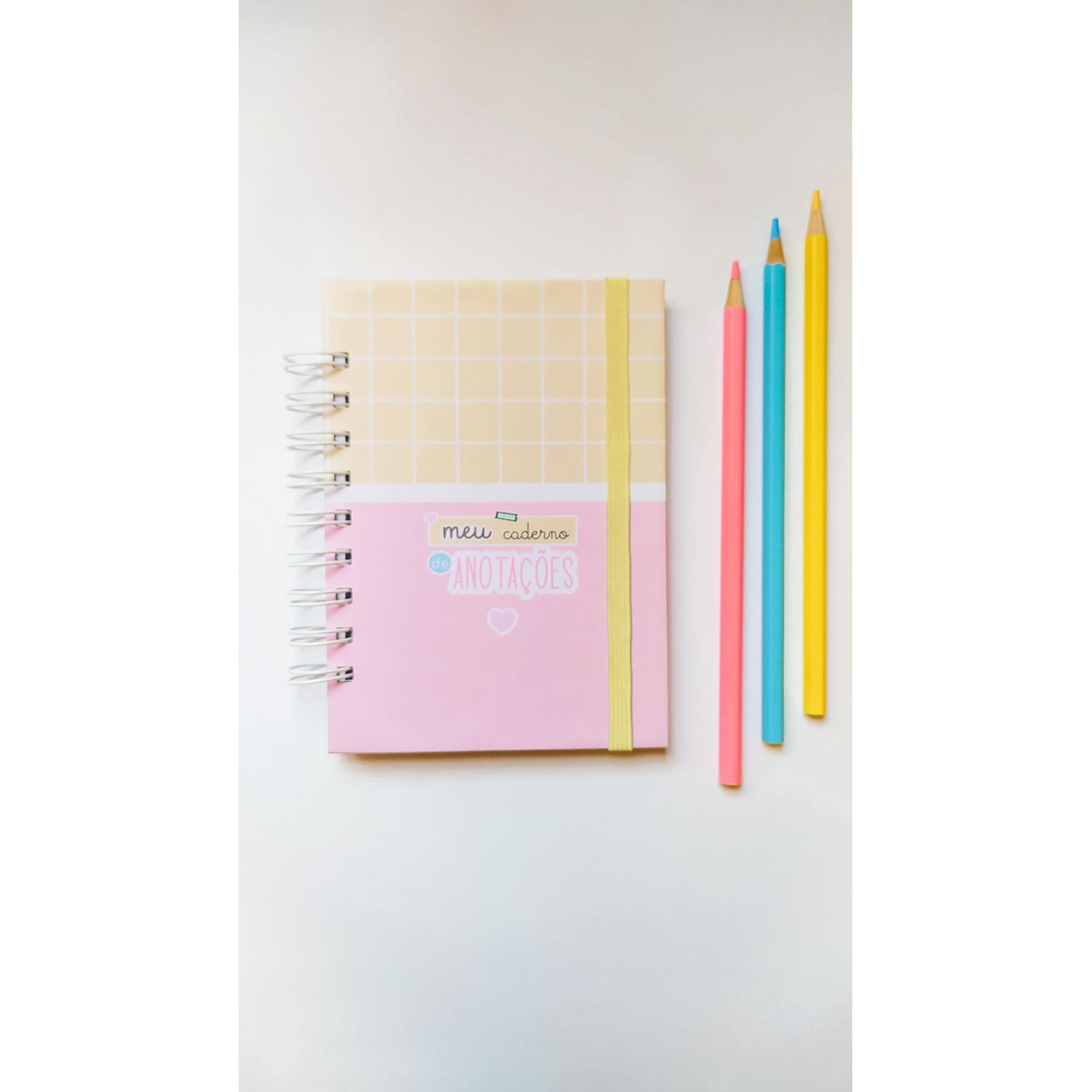 Caderno Pequeno (A6) - Coleção Fofa