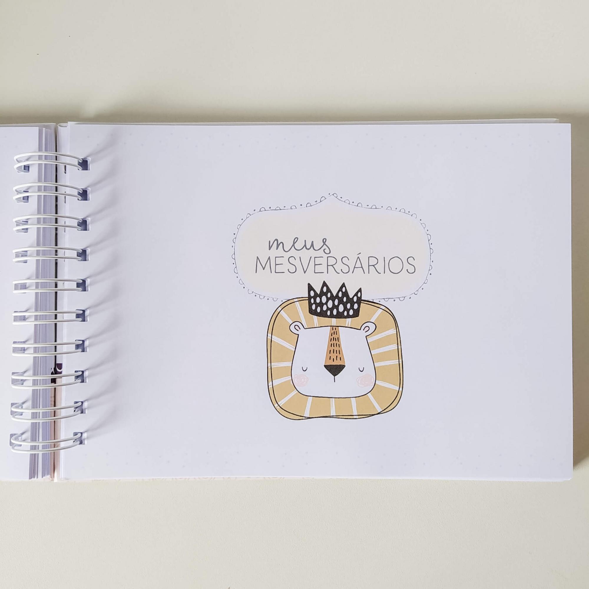 Livro do bebê - Menina Coleção 1.0