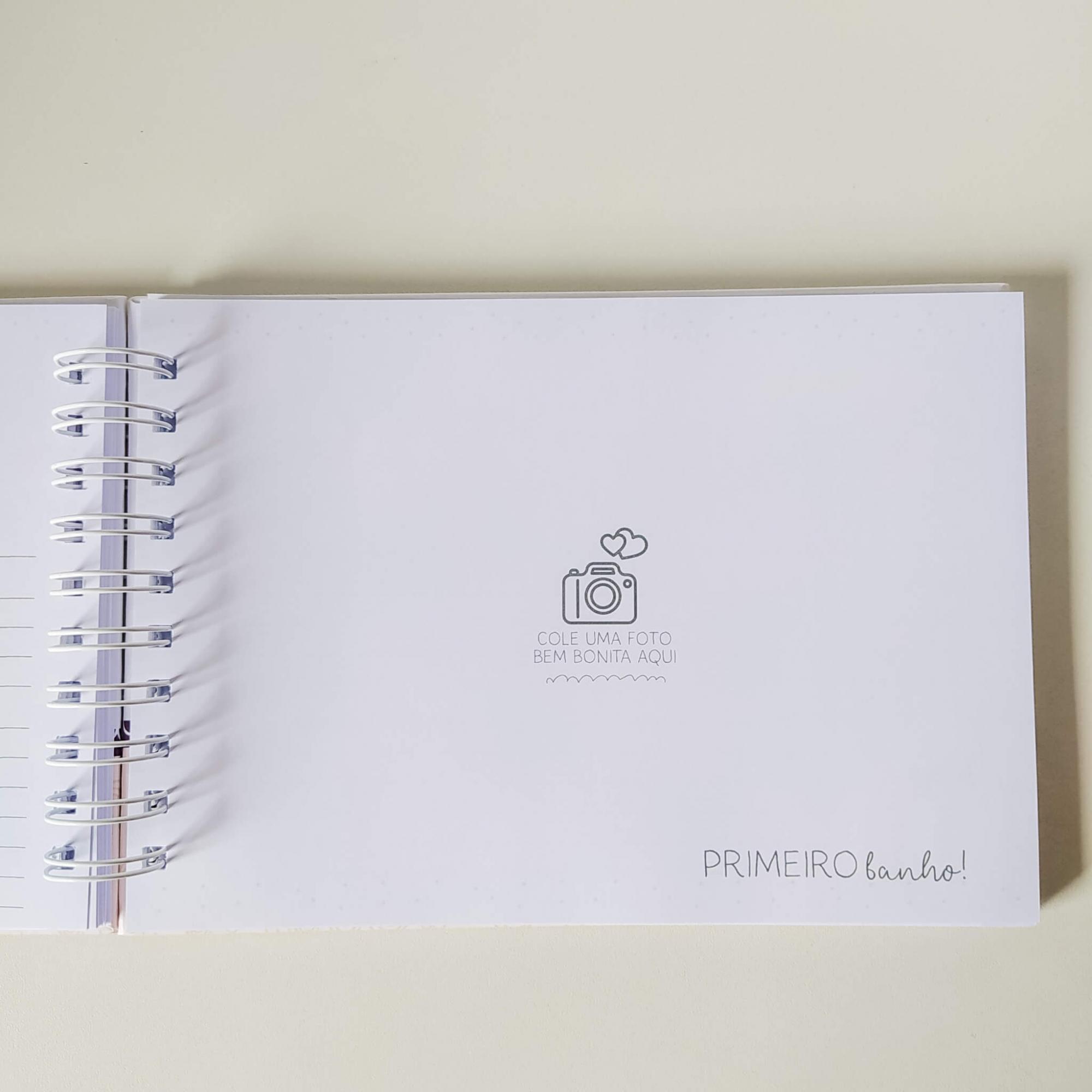 Livro do bebê - Menina Coleção 2.0