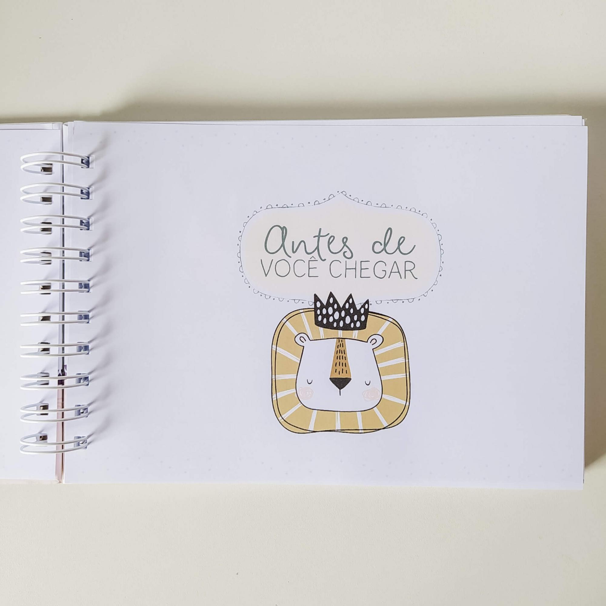 Livro do bebê - Neutro