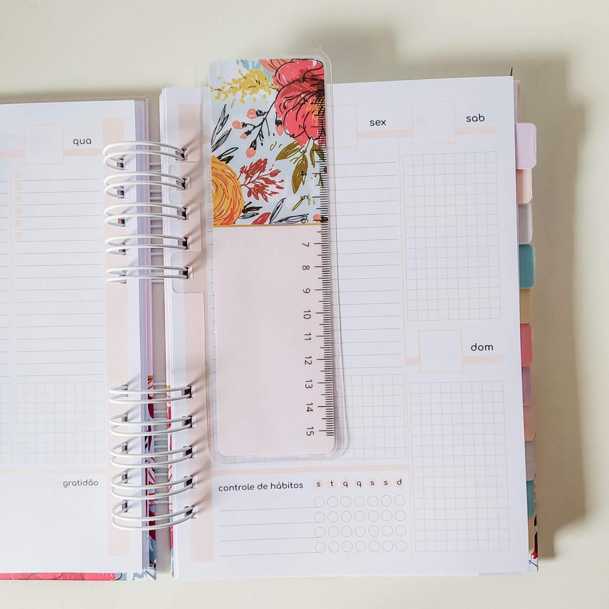 Planner permanente - coleção Azul e Rosa