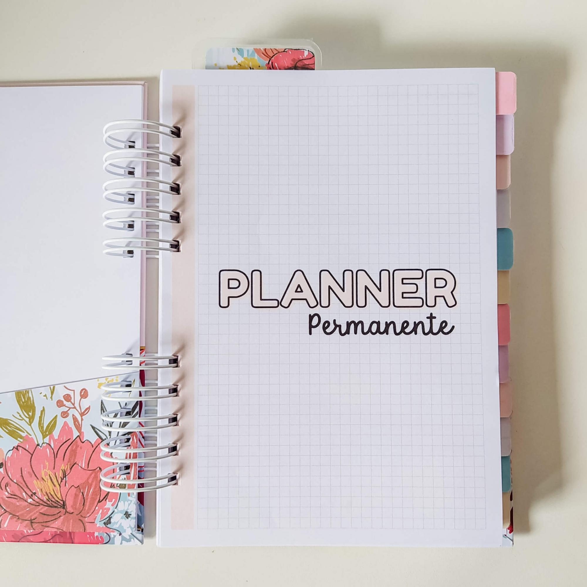 Planner permanente - Geometrica/Abstrata
