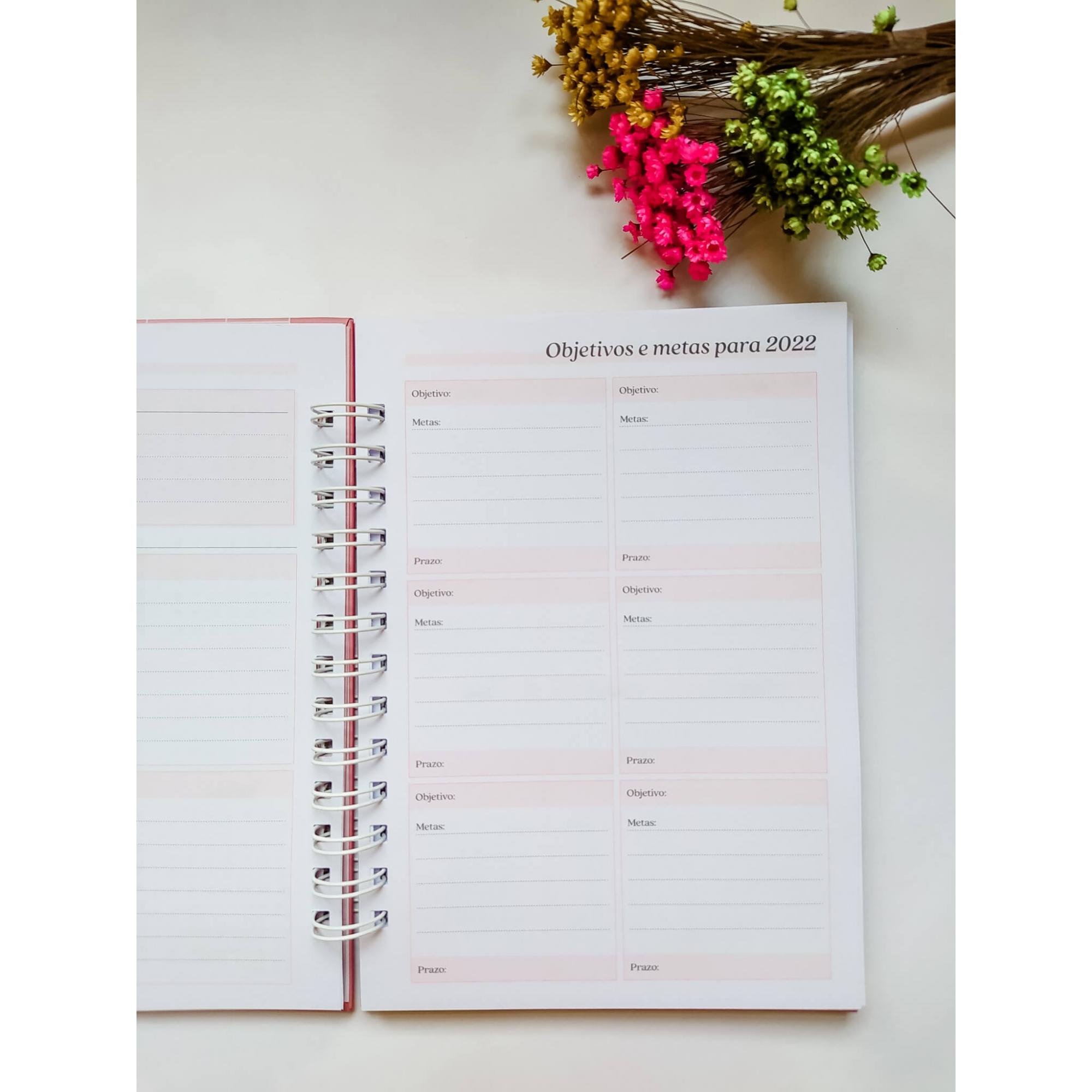 Planner Slim 2022 - Coleção Profissões