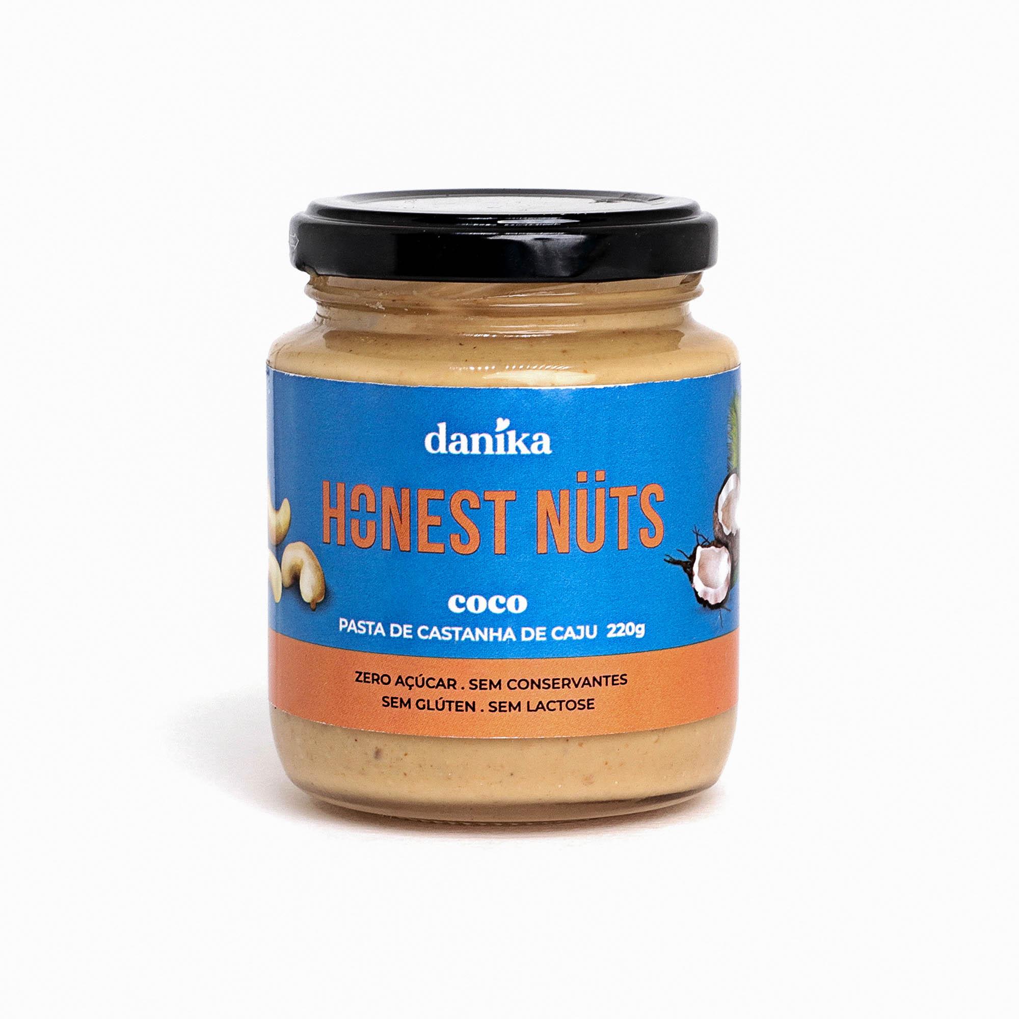 Caju com Coco (220g)  - Honest Nuts