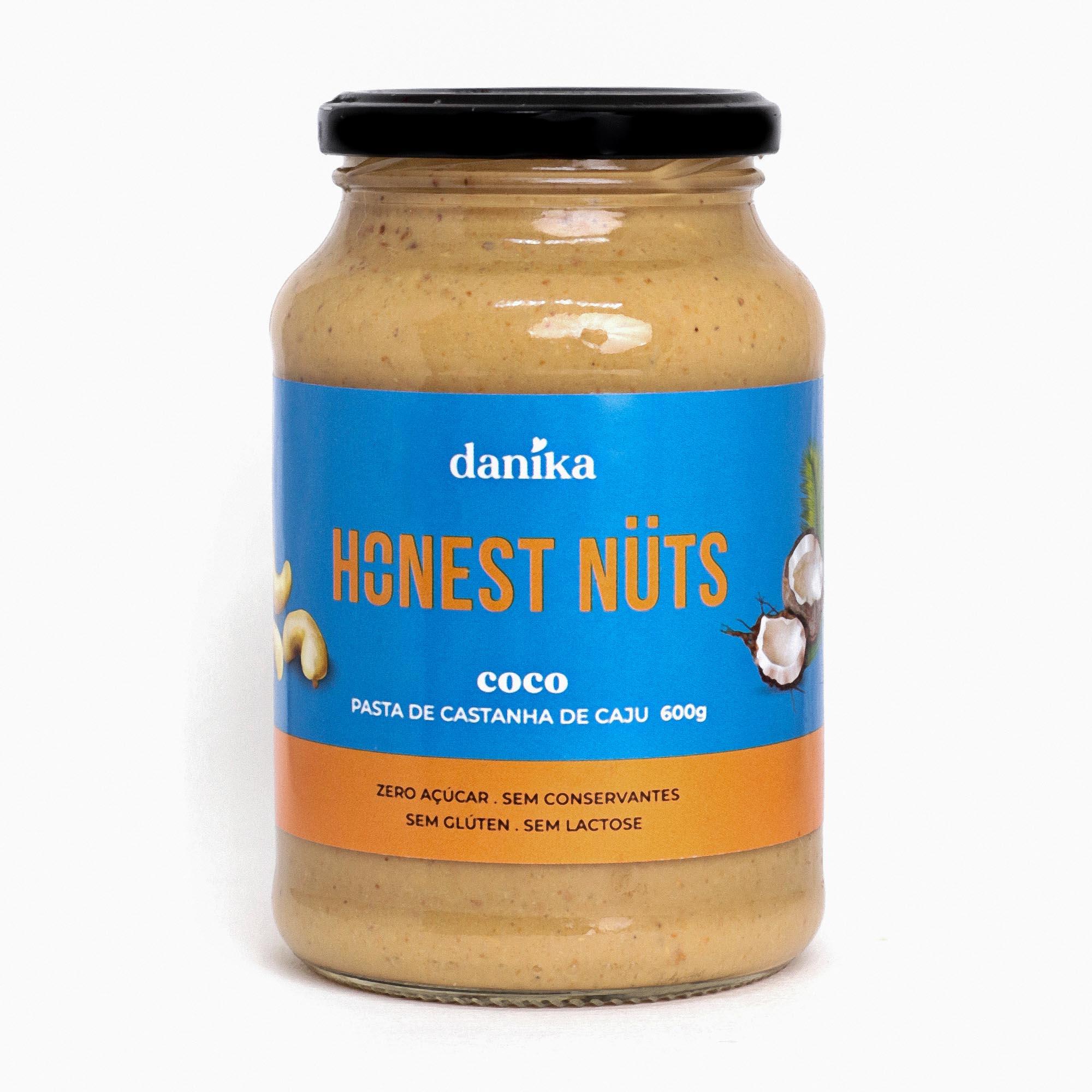 Caju com Coco (600g)  - Honest Nuts