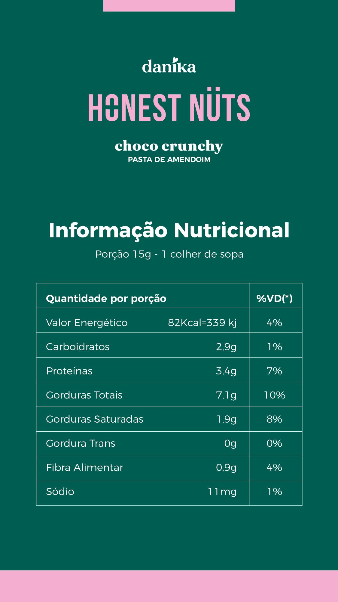 Choco Crunchy (600g)  - Honest Nuts
