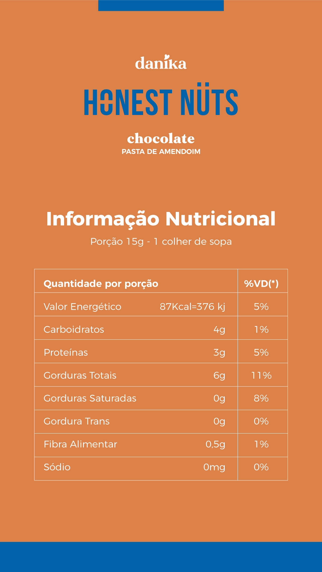 Chocolate (220g)  - Honest Nuts