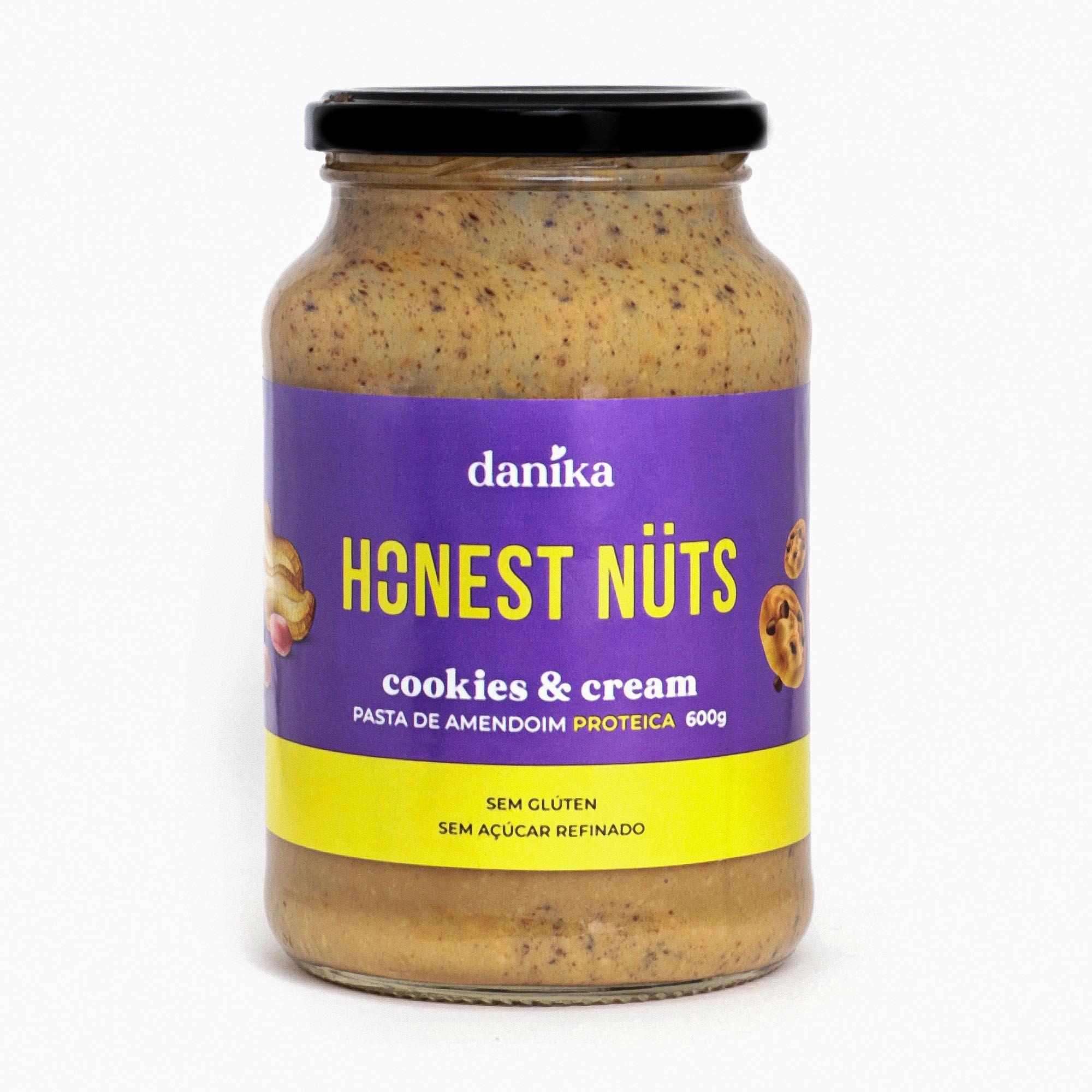 Cookies & Cream (600g)  - Honest Nuts