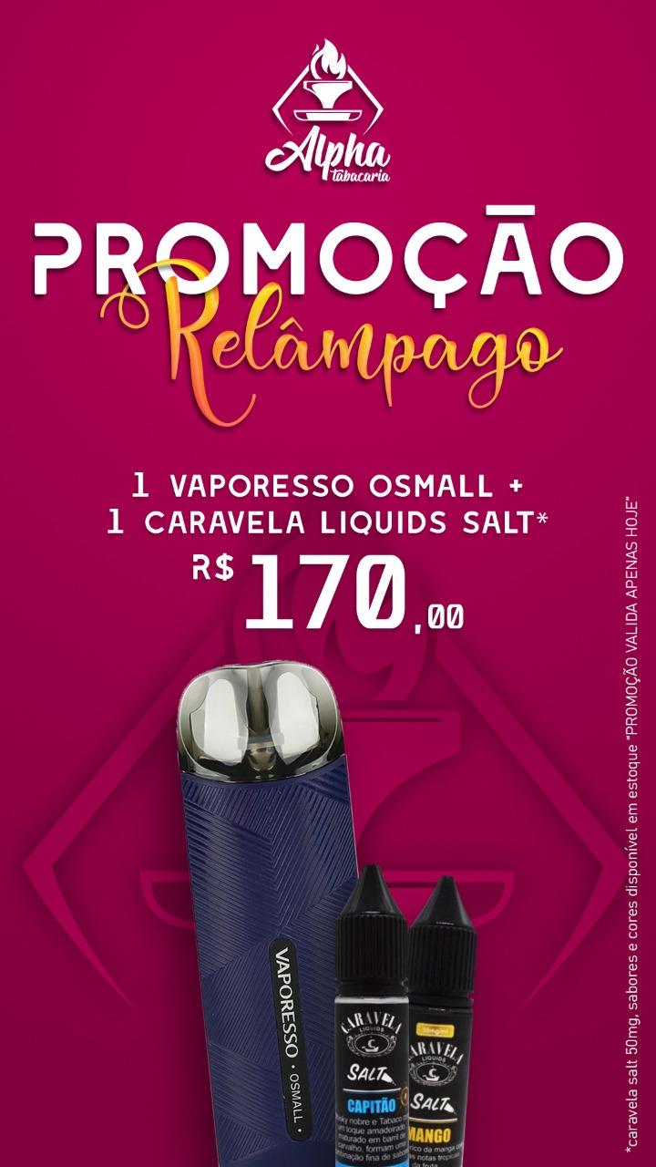 OSMALL - VAPORESSO + CARAVELA SALT-50MG