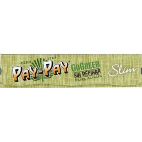 PAY-PAY GO GREEN