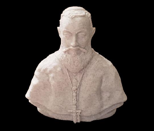 Busto Dom Vital - 12 Cm