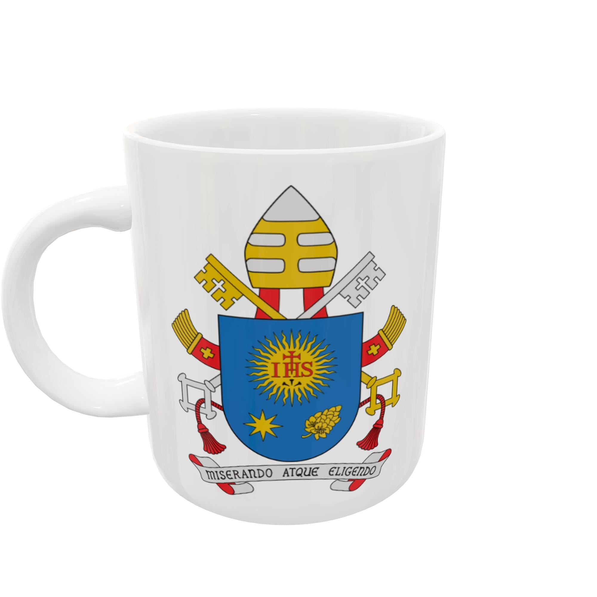 Caneca Brasão - Papa Francisco