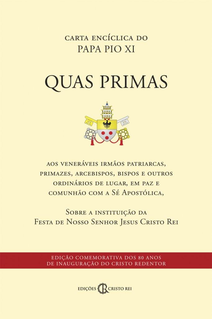 Carta Encíclica Quas Primas do Papa Pio XII